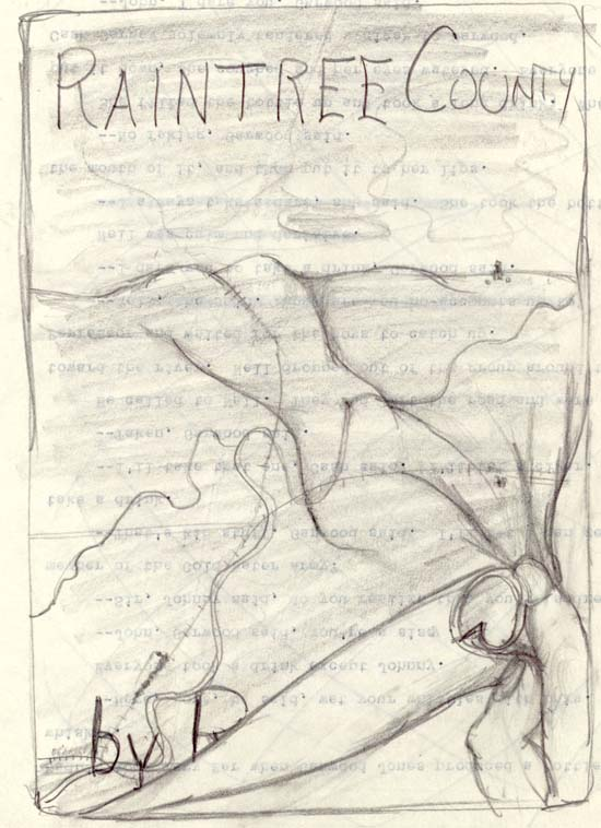 Raintree County Cover Sketch